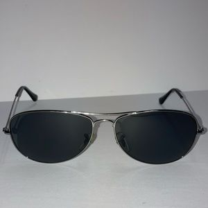 RayBan Cockpit Gunmetal Polarized Sunglasses